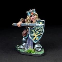 Dwarven Female Warrior - Annora Gemtin w/Pike