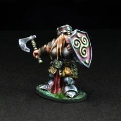 Dwarven Female Warrior - Gertyn Naerris w/Axe