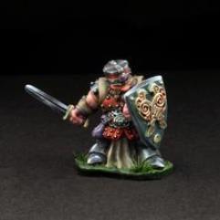 Dwarven Warrior - Addus Dardrak w/Sword