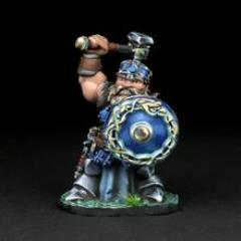 Dwarven Warrior - Banrom Krumdor w/Hammer