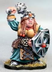Dwarven Female Cleric