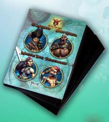 Game Cards #1 - El Marques, Sloot Gunner, Marlene Dick, Pier Del Mocho