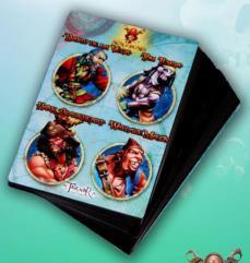 Game Cards #2 - David De La Vega, Tom Tumba, Hank Blackheart, Wallace Mason
