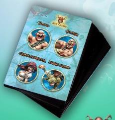 Game Cards #4 - Path, Flink, Grace Spinster, Erika Craby