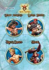 Game Cards #6 - Jimy Jokins, Long John, Rick Crazy, Hook