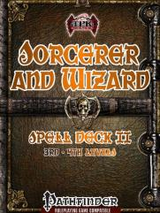Sorcerer and Wizard Spell Deck II