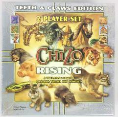 Chizo Rising 2-Player Starter Set (Teeth & Claws Edition)