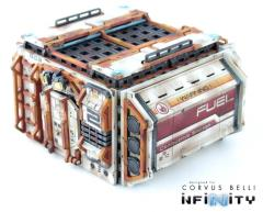 Cosmica Fuel Building (Without Pipes)