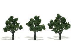 "Realistic Trees - Medium Green (3""-4"")"