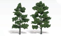 "Realistic Trees - Medium Green (6""-7"")"