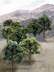 "Deciduous Trees - Mixed Green (3"" - 5"")"
