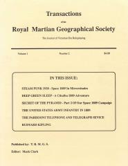 Transactions of the Royal Martian Geographical Society Vol. 1 #2