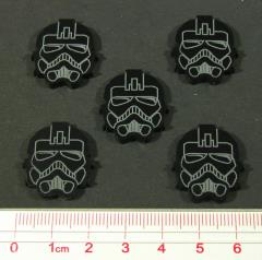 Space Fighter - Empire Elite Pilot Tokens