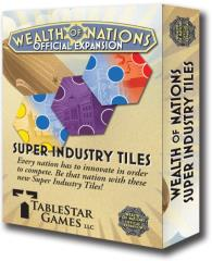 Wealth of Nations Expansion #2 - Super Industry Tiles
