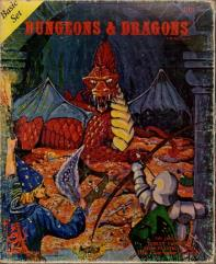Dungeons & Dragons - Basic Set (2nd Printing, Lizard Logo)