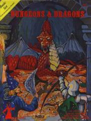 Dungeons & Dragons - Basic Set (5th-6th Printings w/B1 & Wizard Logo)