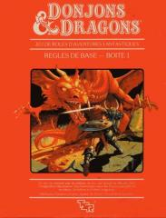 Donjons & Dragons - Regles de Base (2nd Printing) (Dungeons & Dragons Basic Set, French Edition)