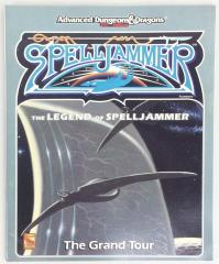 Legend of Spelljammer, The - The Grand Tour Book Only!