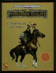 Forgotten Realms Campaign Setting (2nd Edition, 1st Printing)