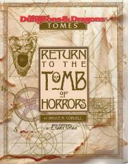 Return to the Tomb of Horrors - Adventure Book