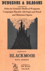 Supplement #2 - Blackmoor (2nd-4th Printings)