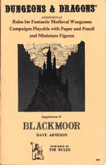 Supplement #2 - Blackmoor (5th-7th Printings)
