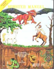 Monster Manual (1st Cover, 6th Printing)