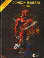 Dungeon Master's Guide (1st Edition, True 1st Printing, Efreet Cover)