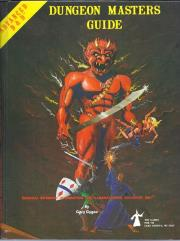Dungeon Master's Guide (1st Edition, 6th Gamma Printing, Efreet Cover)