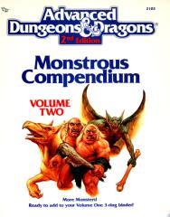 Monstrous Compendium Volume #2