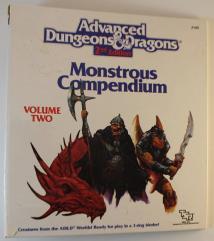 Monstrous Compendium Dragonlance Appendix - Binder Only!