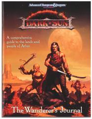 Dark Sun (1st Edition) - Wanderer's Journal Only!