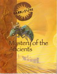 Dark Sun (Revised and Expanded) - Mystery of the Ancients Book Only!