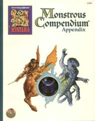 Monstrous Compendium Mystara Appendix