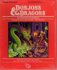 Donjons & Dragons - Regles de Base (1st Printing)  (Dungeons & Dragons Basic Set, French Edition)
