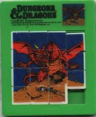 Dungeons & Dragons Sliding Puzzle - Red Dragon