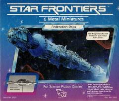 Star Frontiers - Knight Hawks Federation Ships