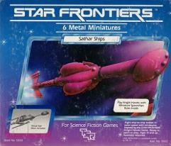 Star Frontiers - Sathar Ships