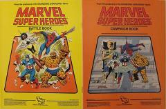 Marvel Super Heroes - Campaign Setting, Books Only!