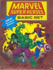 Marvel Super Heroes - Basic Set (Revised Edition)