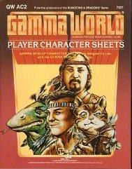 Gamma World PC Record Sheets (2nd Edition)