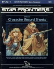 Character Record Sheets