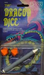 Dragon Dice (1st Edition) w/Erol Otus Art (Blue Backing)