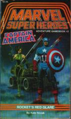 Marvel #2 - Captain America, Rocket's Red Glare