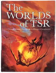 Worlds of TSR, The - Autographed by 6 TSR Artists!