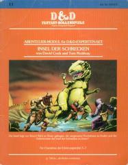 Insel Der Schrecken (The Isle of Dread) (German Edition)