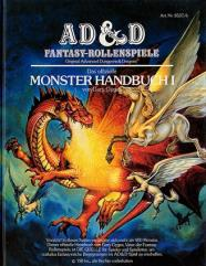 Monster Handbuch I (Monster Manual, 2nd Cover, German Edition)