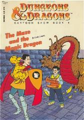 D&D Cartoon Show Book #4 - The Maze and the Magic Dragon