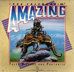 Amazing Stories Calendar 1986