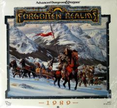 1989 Forgotten Realms Calendar